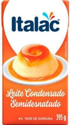 Leite condensado semidesnatado - Italac - 395g