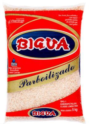 Arroz branco longo fino tipo 1 - Bigua - 5kg