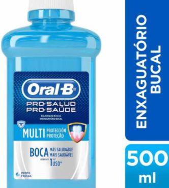 Antisseptico bucal mental - Oral B - 500ml