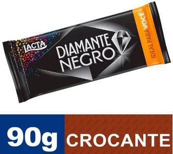 CHOCOLATE DIAMANTE NEGRO - LACTA - 90g