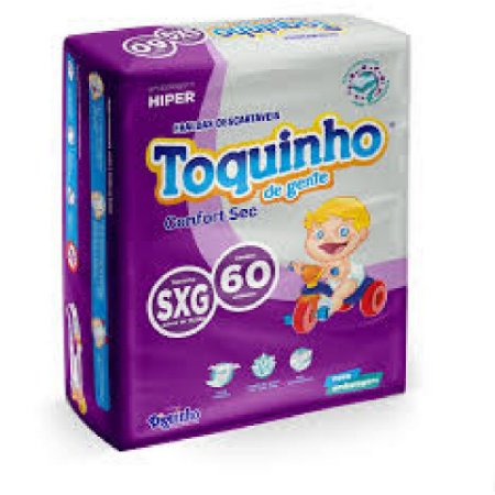 FRALDA INFANTIL - TOQUINHO PREMIUM - P-M-G-EG-SXG