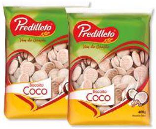 BISCOITO DE COCO COQUITOS - PREDILLETO - 400g