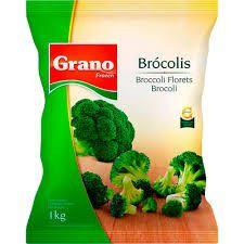 BROCOLIS CONGELADO - GRANO - 1 KG