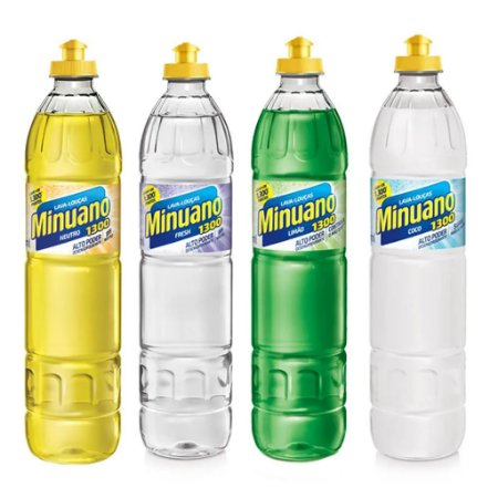 DETERGENTE - MINUANO - 500ml