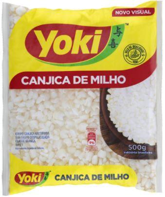Canjica de milho - Yoki
