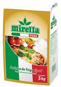 FARINHA DE TRIGO PIZZA - MIRELLA - 5kg