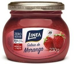 GELEIA ZERO AÇUCAR - LINEA - 230g