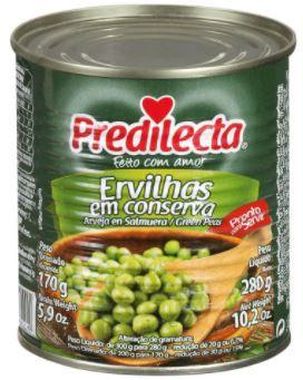 ERVILHA EM LATA - PREDILECTA - 170g