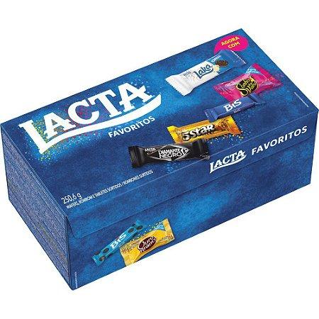 Bombom favoritos - Lacta - 250,6g