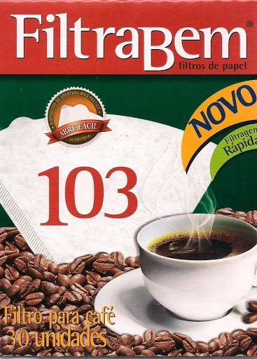 Filtro de papel para cafe - Filtrabem