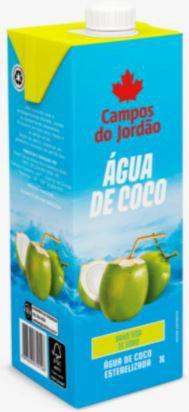 Agua de coco - Campos do jordao