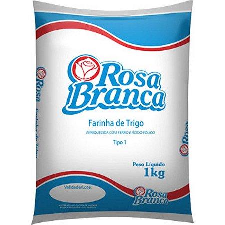 FARINHA BRANCA DE TRIGO TIPO 1 - ROSA BRANCA