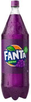 Refrigerante de uva - Fanta