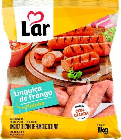 Linguiça de frango - Lar - 1kg