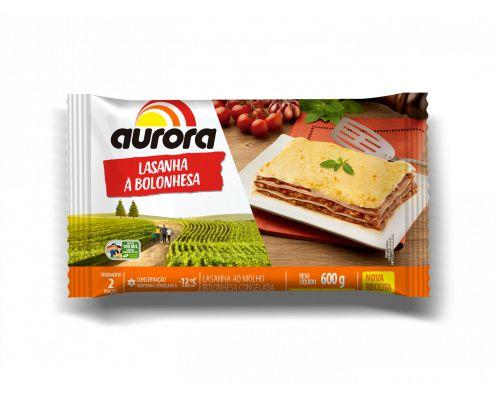 LASANHA CONGELADA - AURORA - 600g