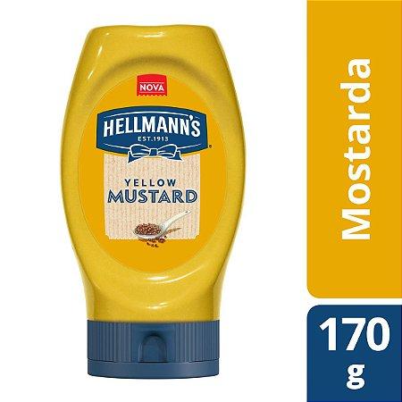 Molho mostarda tradicional - Hellmanns - 170g