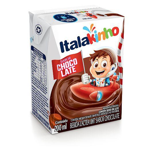 Bebida lactea sabor chocolate - Italac - 200ml