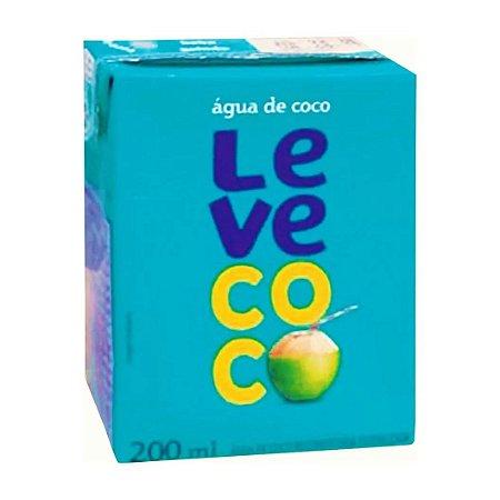 Agua de coco - Leve coco - 200ml