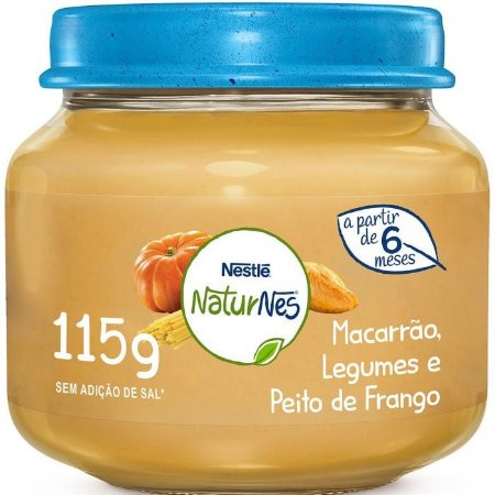 Papinha salgada - Nestle