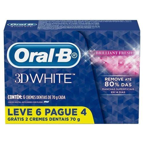 Creme dental 3d white - Oral B