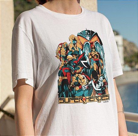 Camiseta Heróis Clássicos