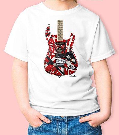 Camiseta Infantil Guitarra Frankeinstein VH