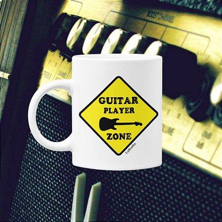 Caneca Guitar Player Zone