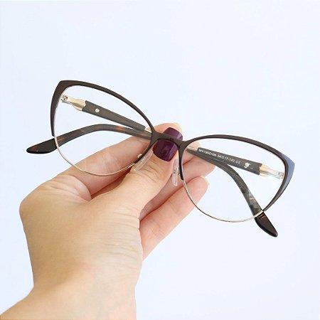Armação de Óculos de Grau Avila Preto Seja Cereja