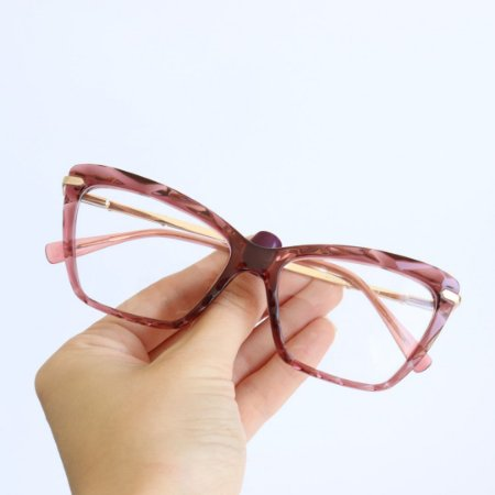 Armação de Óculos de Grau Deli Rose Seja Cereja