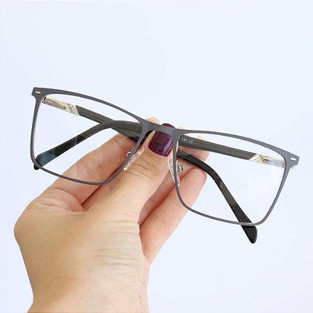 Armação de Óculos de Grau Retangular Drancy Seja Cereja