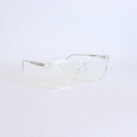 Armação de Óculos de Grau Transparente Opelika Seja Cereja