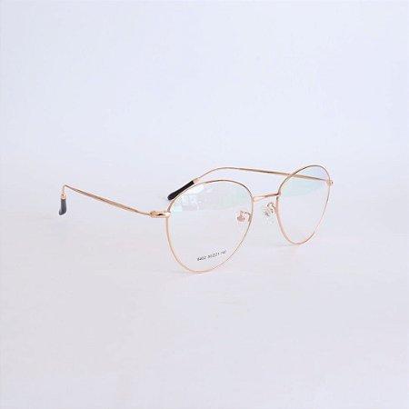 Armação de óculos de grau Rose Gold Anniston Seja Cereja