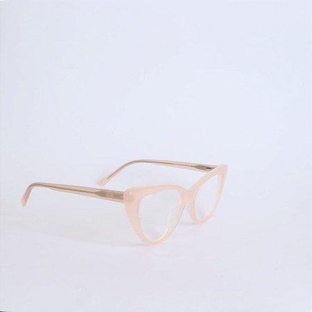 Armação de óculos de grau Gatinho Gabriela Seja Cereja