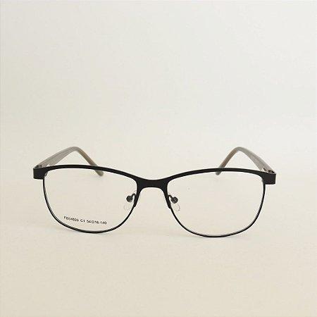 Armação de Óculos de Grau Cairo Seja cereja