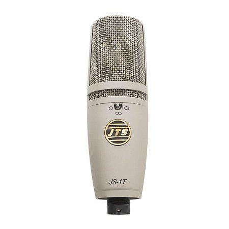 Microfone Condensador de diafragma grande para estúdio - JT-1T