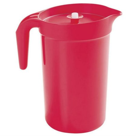 Jarra Tupperware 3,8 Litros Vermelha