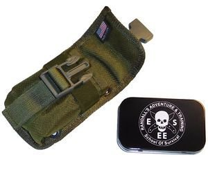 ESEE Accessory Pouch For ESEE Sheath for RC5 or RC6 52-POUCH-OD GREEN