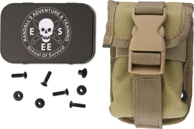 ESEE Accessory Pouch Khaki For ESEE Sheath for RC5 or RC6 ESEE-52-POUCH-K
