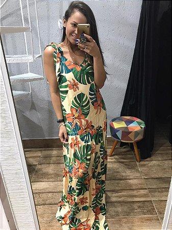 Vestido em Viscose