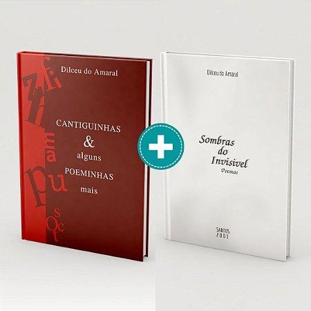 Poesia em dose dupla: Dois livros de Dilceu do Amaral pelo preço de um
