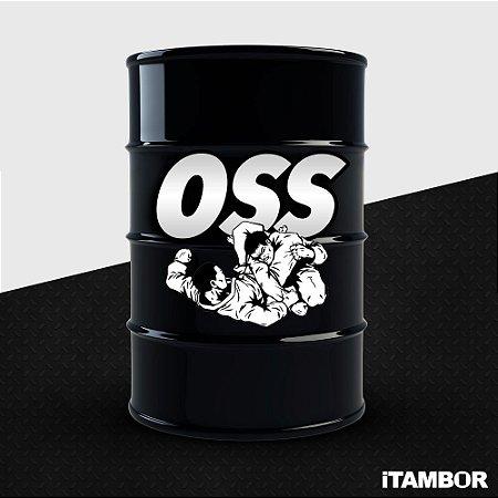 Tambor OSS - Jiu Jitsu - Grande 200 Litros