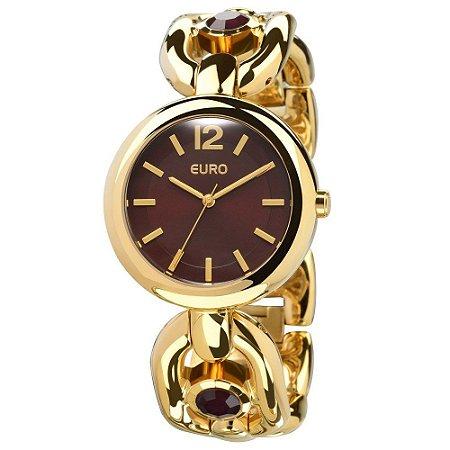 Relógio Euro Topazio Analógico Feminino EU2035LVX/4M