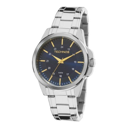 332993fa61b Relógio Technos Classic Steel Analógico Masculino 2035MDF 1A - Loja ...
