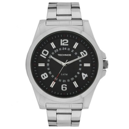 Relógio Technos Classic Steel Analógico Masculino 2035MFC/1R