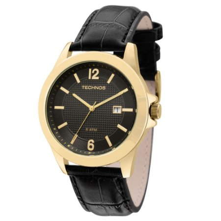 Relógio Technos Classic Steel Analógico Masculino 2115KNO/2P