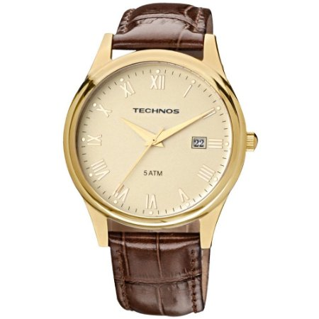 Relógio Technos Classic Executive Masculino 2115GL/2X