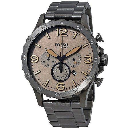 Relógio Fóssil Cronógrafo Masculino Nate JR1523/1MN