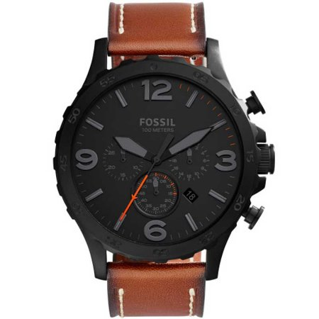 518aaaddc97 Relógio Fóssil Cronógrafo Masculino Nate JR1524 2PN - Loja Online ...