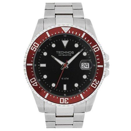 Relógio Technos Performance Skymaster Masculino 2415CF 1P - Total Luxo 62fb1cfb23