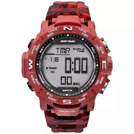 ad50cf4f8c8e8 Relógio Mormaii Camuflado Digital Masculino Action MO1173A 8R - Loja ...